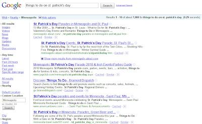 Google Search Location