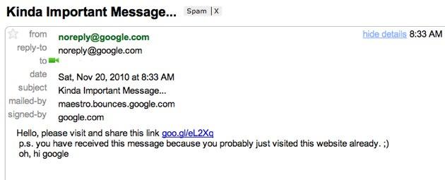 Google Mail Sicherheitslücke