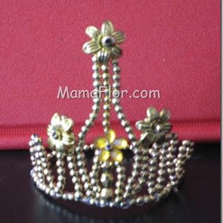 Bijoutería: Corona para Reynas (Modelo II)