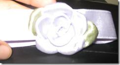 Como hacer una Rosas con Cinta