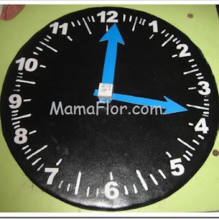Manualidades para Ninos: Reloj en Corospum…