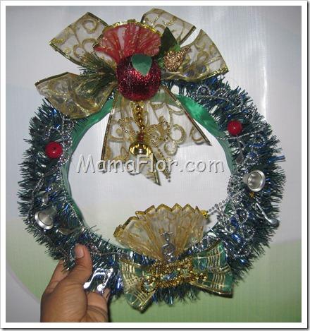 Navidad: Corona Navidena para Puertas o ventanas(Modelo II)…