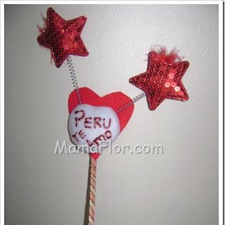 Como hacer un pin conmemorativo para Fiestas Patrias Perú