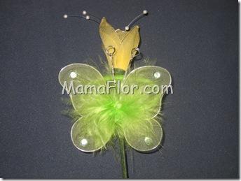Reciclaje: Como Hacer Mariposas con Medias de Nylón