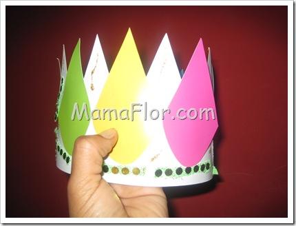 Como hacer un gorro de rey para fiesta infantil