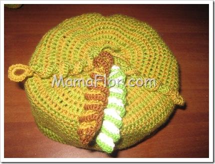 Como Tejer Resortes hechos a Crochet