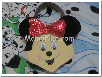 Sorpresa de la ratoncita Minnie: cartera para las niñas