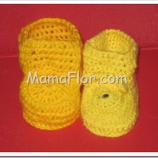 Como Tejer Botines a Crochet para Bebés