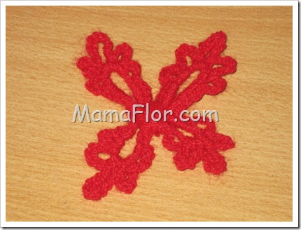 Diseño de Mariposa Tejida a Crochet