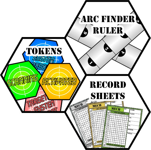 HexLayoutTokensRulerRecordSheets
