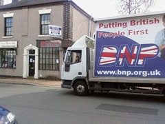 Truth Truck at MP Mike O Briens constituency office