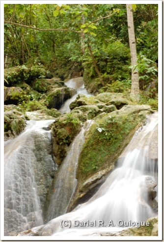 Upper Hagimit Falls, Samal Island