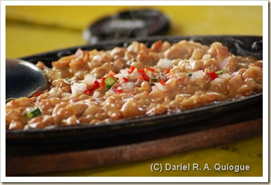 Spicy Sizzling Crocodile Sisig!