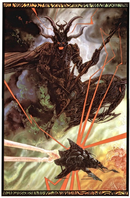 from Salammbo, by Philippe Druillet