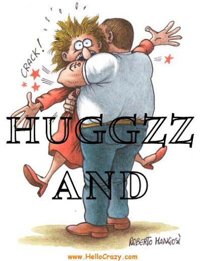 happy ya friend huggs