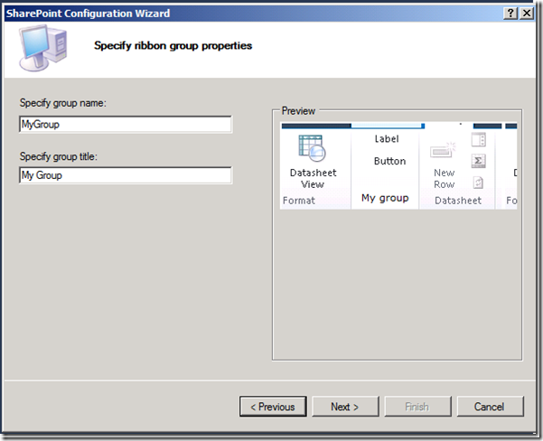 Rapid Development Ribbon in SharePoint 2010(SharePoint 2010 Extensibility Projects: Server Ribbon)