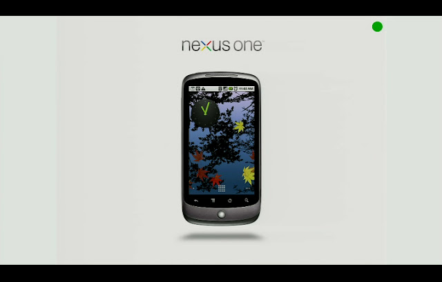 Nexus One dobiva Android 2.3 OTA Update