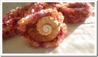 Pink Tube Scarf