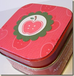Apple tin