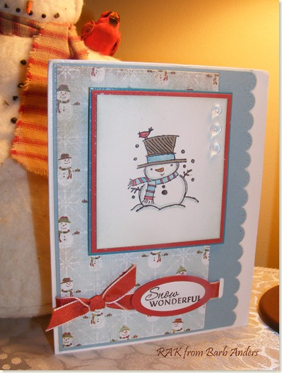 Barb's Christmas card