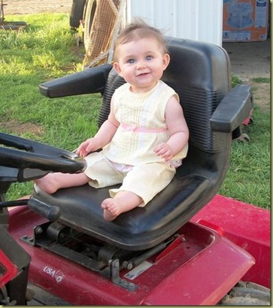 Tractor baby April 2011-4