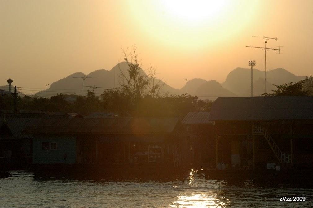 Канчанабури очень примечателен своими пейзажами