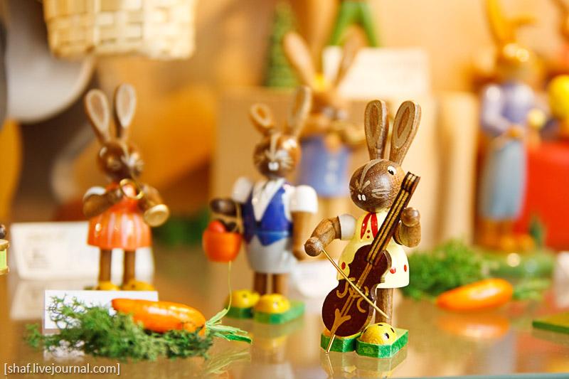 Пасха; пасхальный заяц; Германия; Майсен
