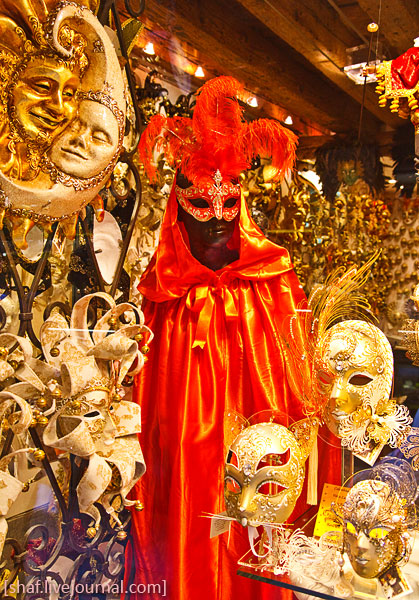 Италия, Венеция, карнавальные маски | Venezia, Italy | Benatky, Italie