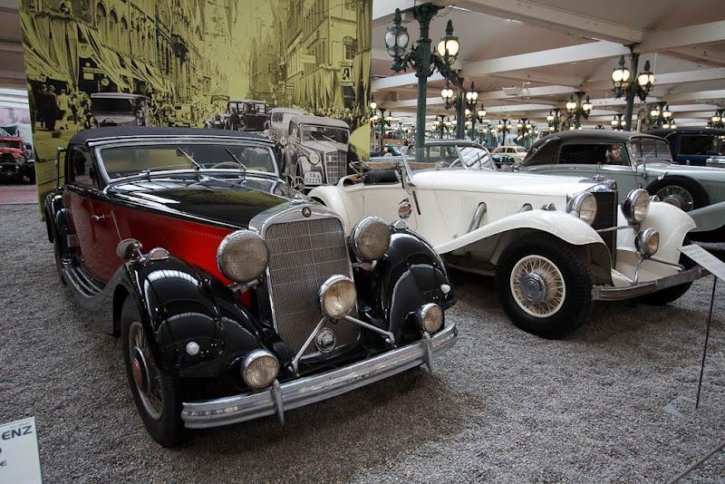 Автомузей; Национальный музей автомобилей, Мюлуз (Mulhouse), Франция; Mercedes-Benz, Cabriolet 290, 1937