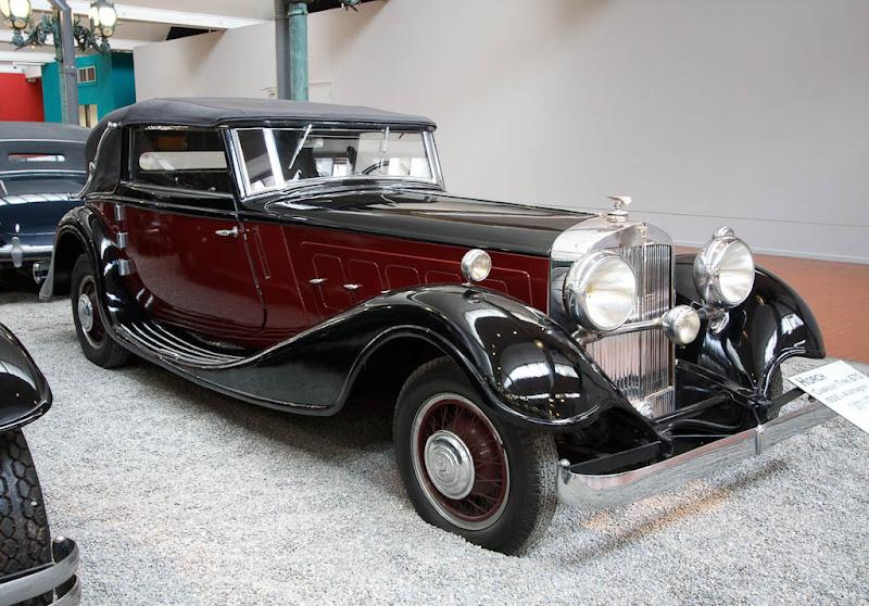 Автомузей; Национальный музей автомобилей, Мюлуз (Mulhouse), Франция; Horch, Cabriolet Type 670, 1932