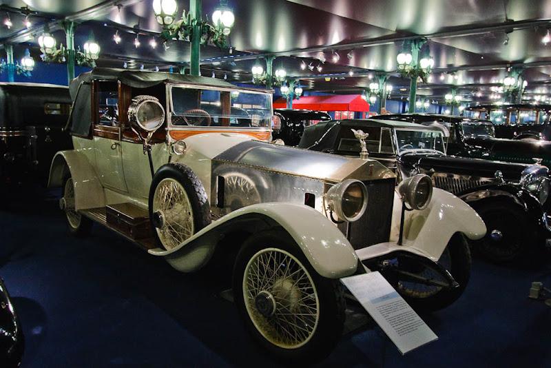 Автомузей; Национальный музей автомобилей, Мюлуз (Mulhouse), Франция; Rolls-Royce, Landaulet Silver Ghost, 1921
