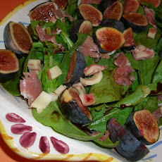 Fig, Prosciutto and Arugula Salad