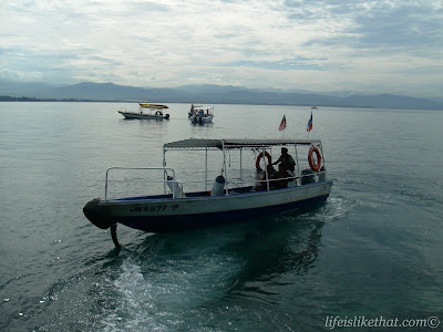 Snorkeling Trip to Mamutik Island I picture sabah escapade  photo