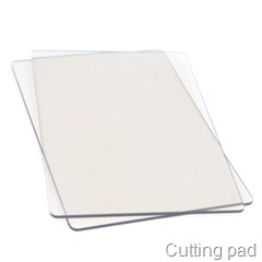 Cutting pad