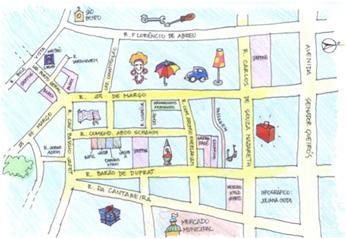 mapa 25 de março