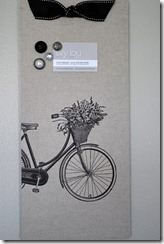 bike magnet board
