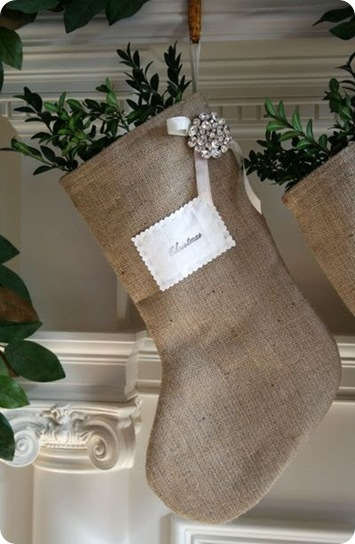 Burlap Stockings - EAB Designs 2