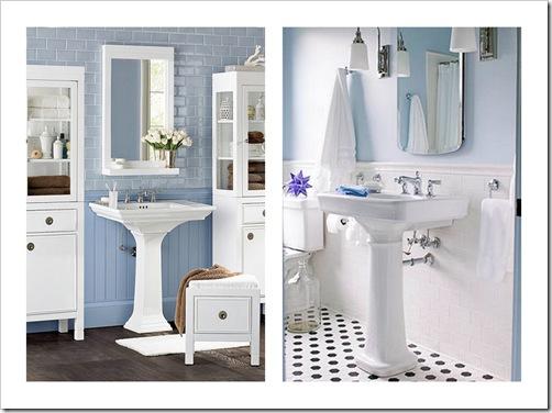 Bagno bianco e azzurro bagno e cucina bricoman idee interessanti