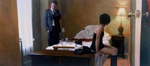 Híper-realismo nas pinturas de Alyssa Monks