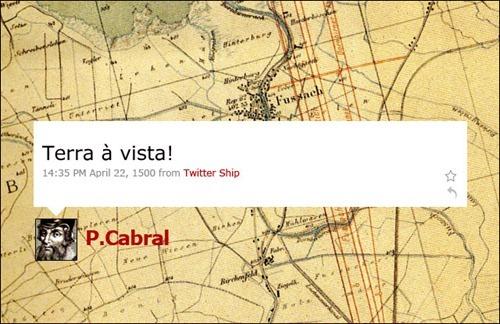 Pedro Cabral - Coleção de tuitadas históricas