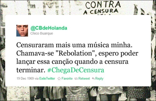 Chico Buarque - Coleção de tuitadas históricas