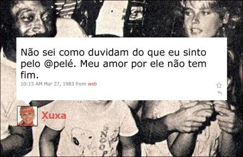Xuxa - Coleção de tuitadas históricas