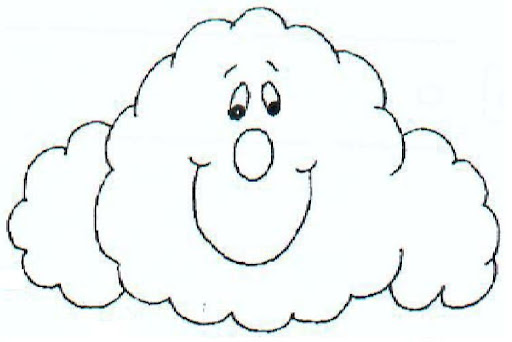 Cuadro de nubes para colorear imagui - Imagenes de nubes infantiles ...