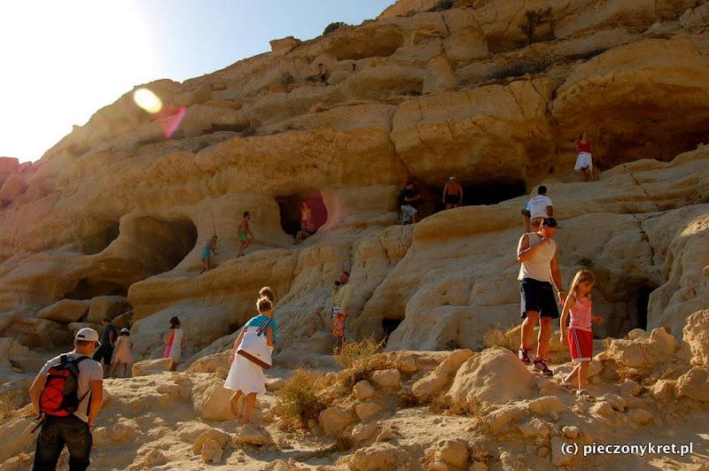 zabytki pieczonykret iraklion  Matala   katakumby