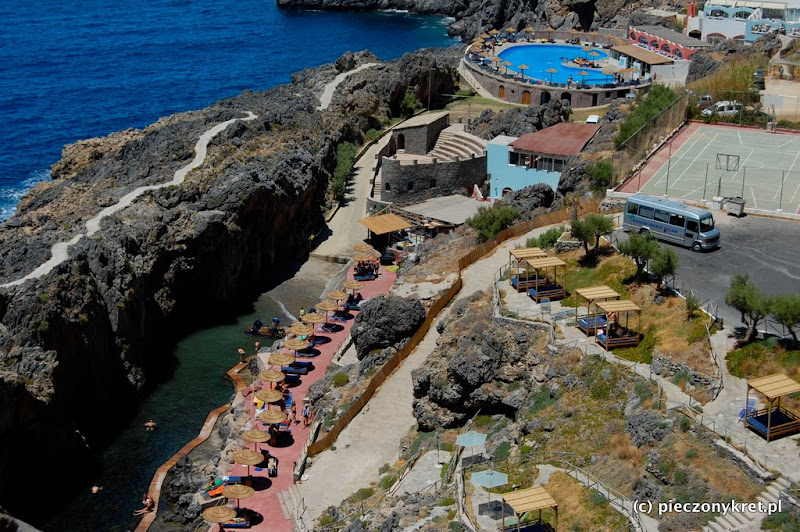 rethymnon  Zatoka Damnoni Bay, hotel Kalypso Cretan Village