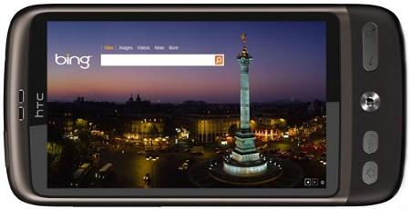 Bing aplikacija za Android