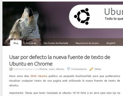Download Plucky za Google Chrome fontovi Ubuntu