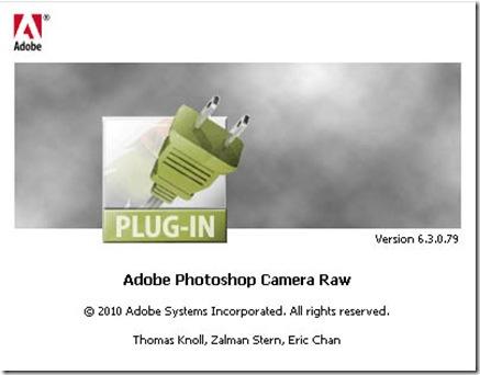 Camera Raw Plugin