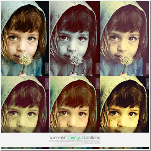 Variety Pack Photoshop Actions
