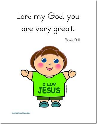 Vv Psalm 104